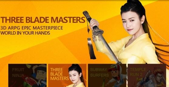 iDreamSky Three Blade Masters promo