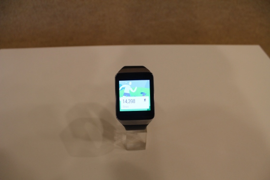 Samsung Gear Live steps
