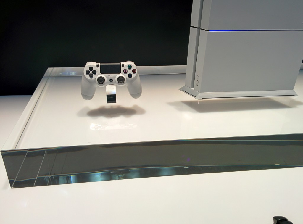 Sony's slick new hardware.