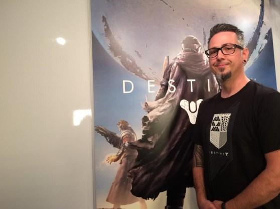 Jason Sussman, senior environment artist on Destiny for Bungie,