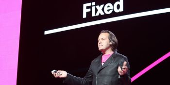 T-Mobile's and Sprint's 5G merger is necessary for them, and good for us