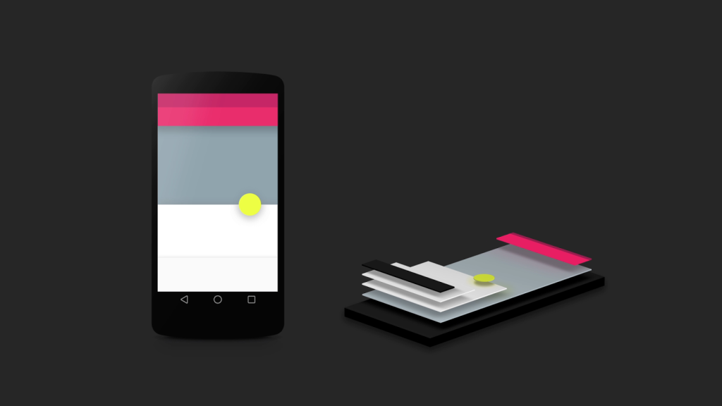 Material design is a big part of the L-Release of Android