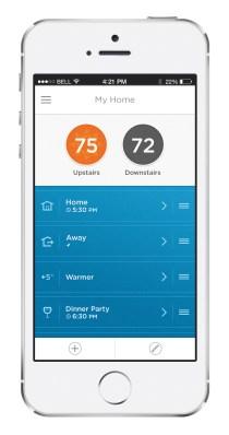 Honeywell Lyric iPhone app