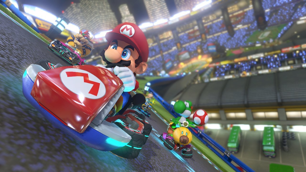 Mario Kart 8 is one of the great games Nintendo is boasting about.