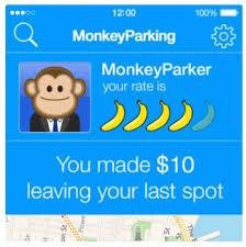 The Parking Money app