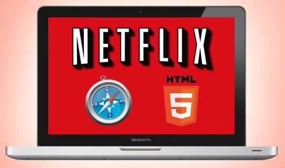 Netflix Safari HTML5 video