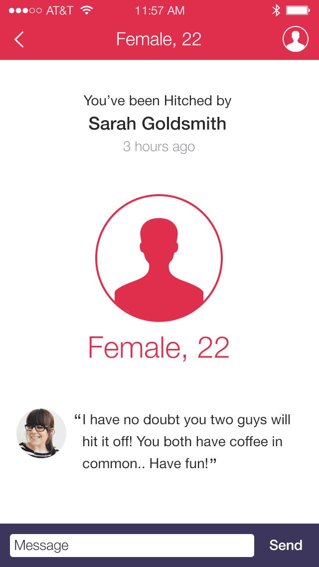 Hitch app dating website