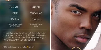 Grindr just got sexier thanks to its new Android design, hits iOS later