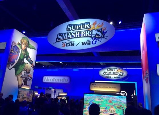 Nintendo booth at E3 2014