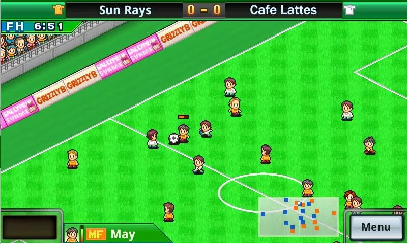 Pocket League Story features light-hearted match simulations.
