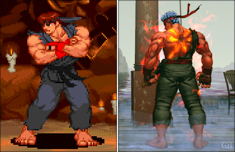 From Pixels To Polygons Ultra Street Fighter Iv Edition