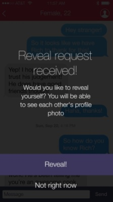 reveal request received