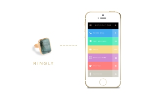 Ringly -- ring and app