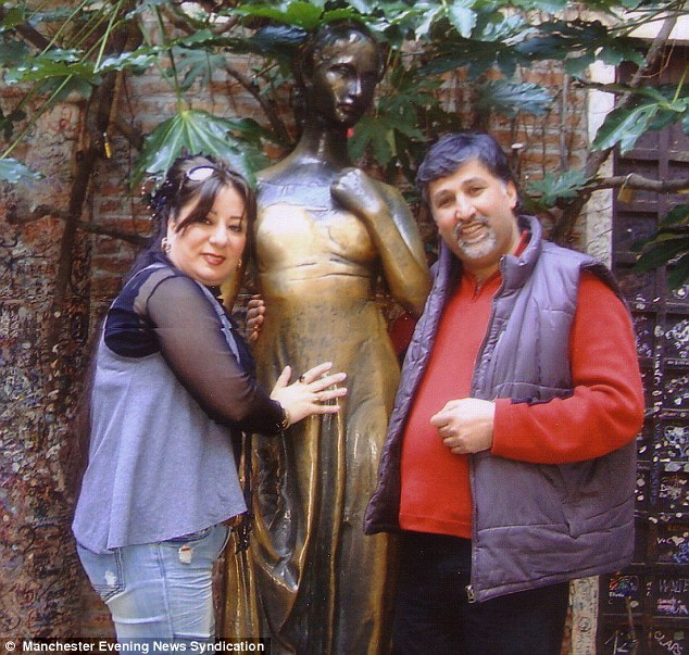 Roya Nobakht and her husband Daryoush Taghipoor, who is said to be devastated by his wife's prison sentence.