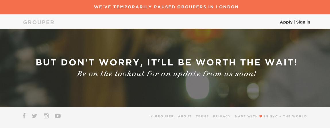 dating Grouper