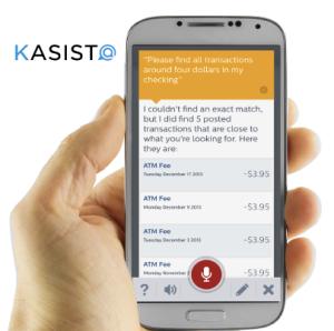 Kasisto -- SRI International virtual personal assitant