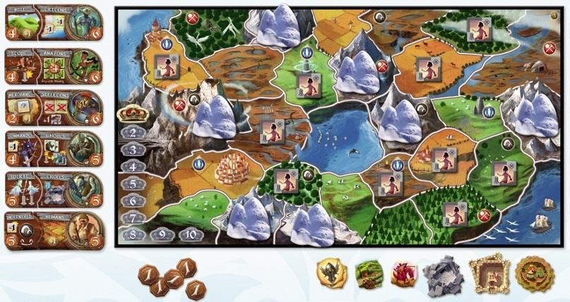Small World (3-player setup)