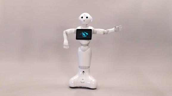 SoftBank's new robot, Pepper.