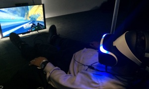 The luge demo for Project Morpheus from Sony