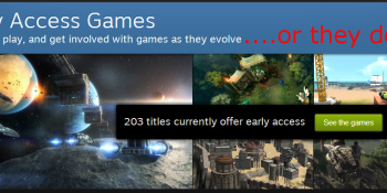 Steam Early Access: Your rights when game development stops