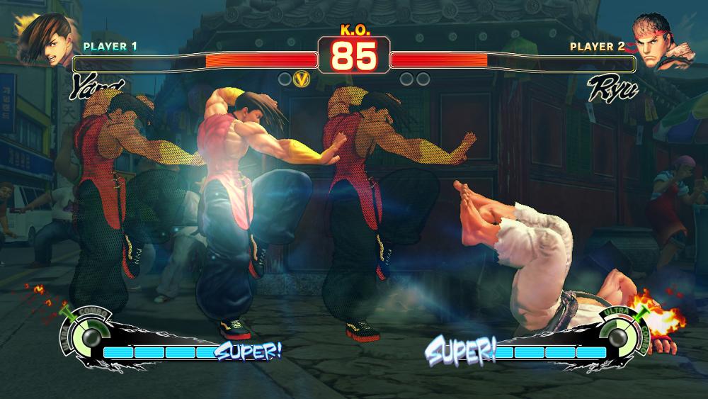ultra super street fighter iv arcade edition
