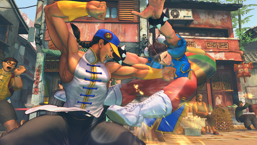 Street Fighter IV Yun