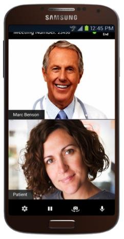 Verizon Virtual Visits video chat