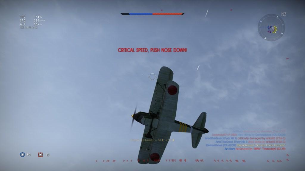 War Thunder under