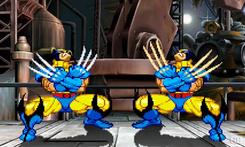 Marvel vs. Capcom 2 Wolverines