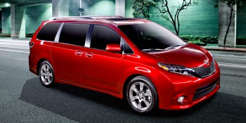 2015 Toyota Sienna gives drivers a built-in megaphone. Kids, you've been warned