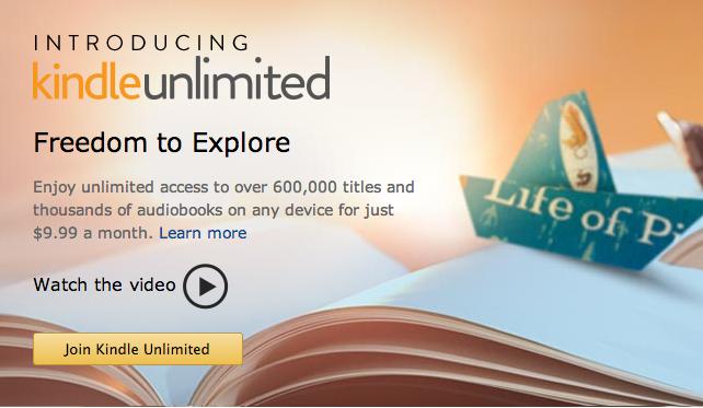 amazon kindle unlimited subscription