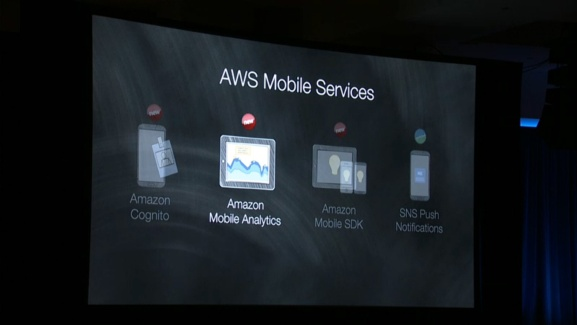 Amazon's new and improved AWS mobile dev services.