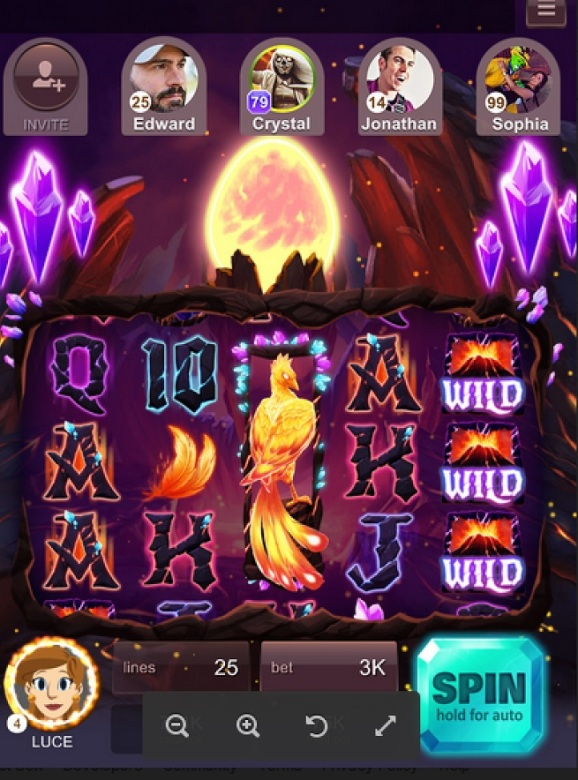 Big fish games adds luxury slots to its mobile social for Big fish casino free slots