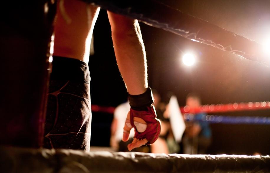 challenger boxing match