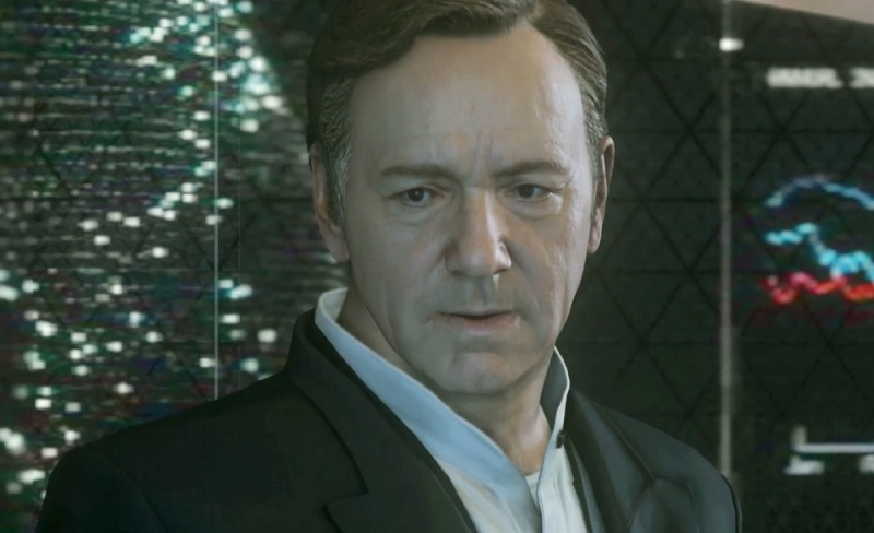 Kevin Spacey in Call of Duty: Advanced Warfare.