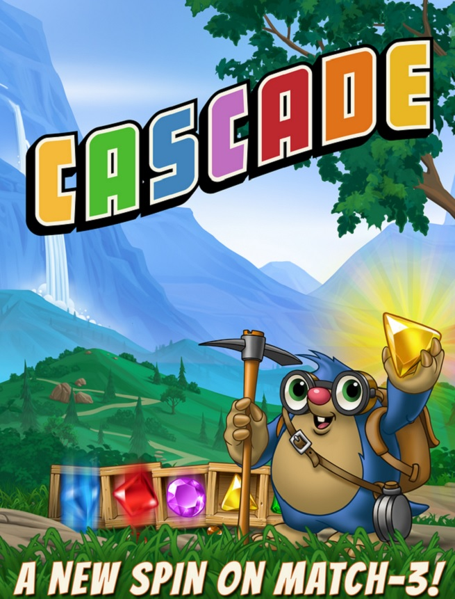 Candy crush killer big fish games launches its cascade for Big fish seattle