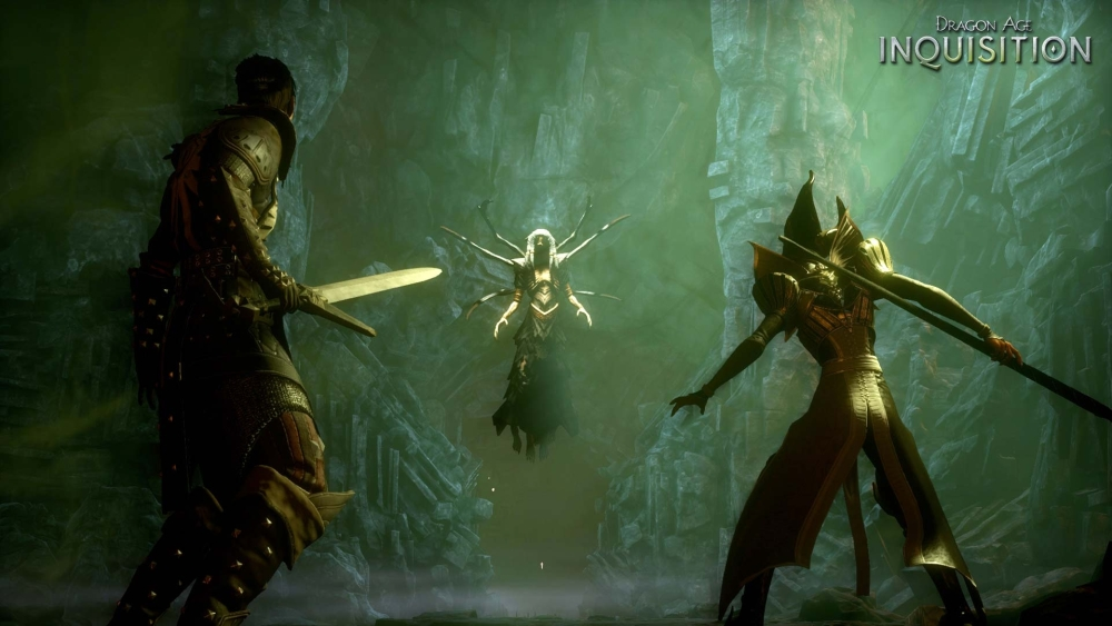 Inquisition keeps the screen free of a lot of visual clutter.