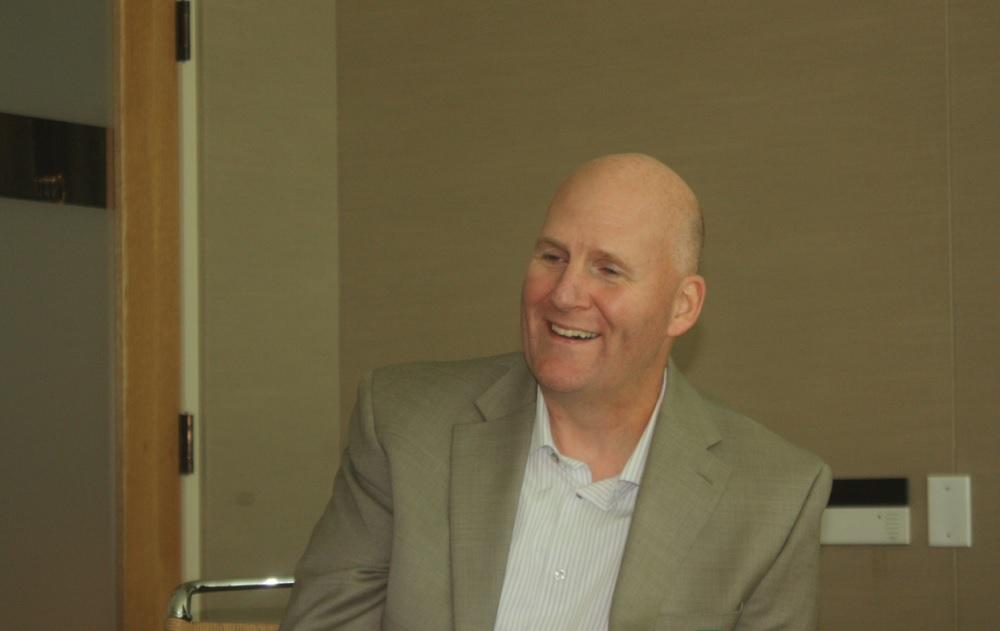 Intel's software vice president Pete Baker