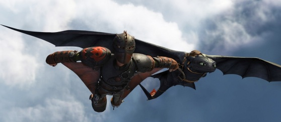 How to Train Your Dragon 2 features detailed characters.