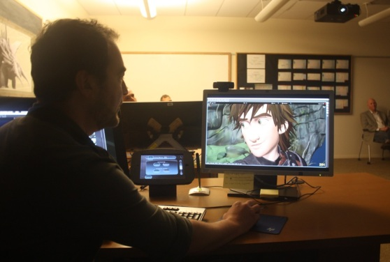 DreamWorks Animation's Premo tool, showing off Hiccup.