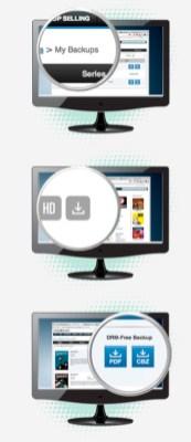 Some screenshots walking through the process of downloading DRM-free comic files via ComiXology's website.