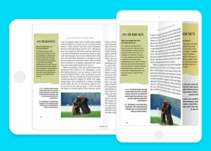Epic also supports full-screen reading.