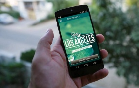 "The ""EveryDrop LA"" app helps curb water waste and promote water conservation in Los Angeles."