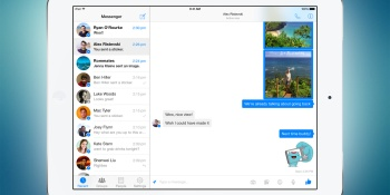 Facebook Messenger finally launches on iPad