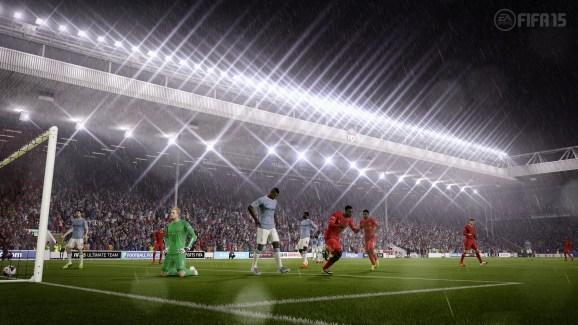 FIFA 15 Liverpool vs. Manchester City
