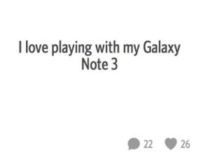Galaxy ad