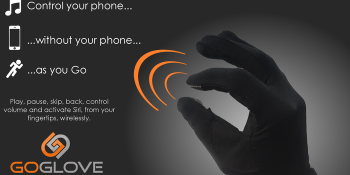 The GoGlove puts music control in the palm of your hand