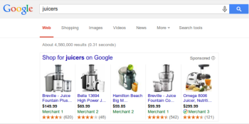 Amazon-style product ratings to hit Google Shopping modules