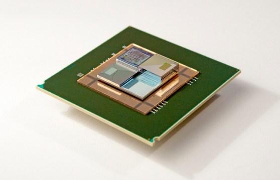 IBM 3D chip stack