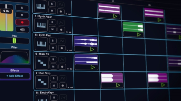 LoopBuilder, a new feature in Stagelight 2.0
